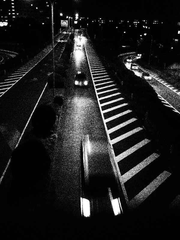 OLYMPUS PEN E-P1 試し撮り その12:夜のハイウェイ _d0087407_015824.jpg