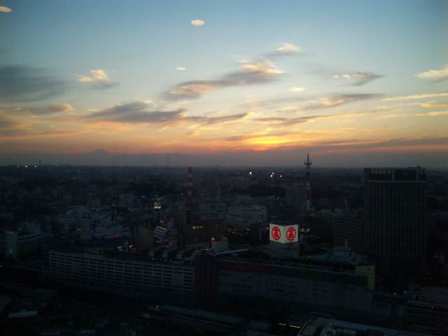 夕焼②_c0132608_16265939.jpg