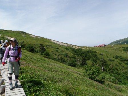夏山登山ツアー 「北アルプス、黒部源流」 参加19名_d0007657_655418.jpg