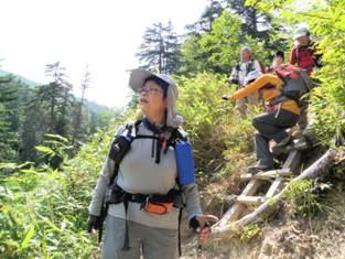夏山登山ツアー 「北アルプス、黒部源流」 参加19名_d0007657_6584634.jpg