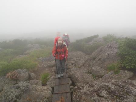 夏山登山ツアー 「北アルプス、黒部源流」 参加19名_d0007657_7113041.jpg