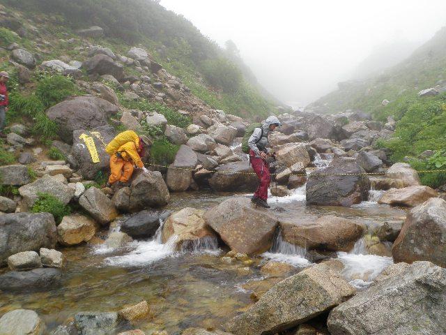 夏山登山ツアー 「北アルプス、黒部源流」 参加19名_d0007657_7193682.jpg