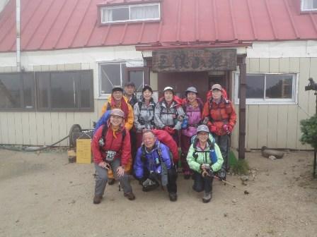 夏山登山ツアー 「北アルプス、黒部源流」 参加19名_d0007657_7214549.jpg