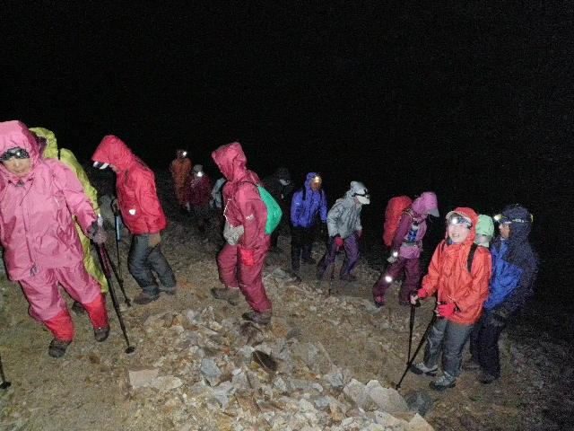 夏山登山ツアー 「北アルプス、黒部源流」 参加19名_d0007657_742562.jpg