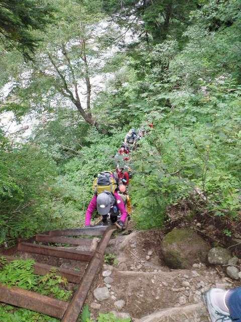 夏山登山ツアー 「北アルプス、黒部源流」 参加19名_d0007657_772421.jpg