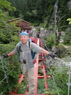 夏山登山ツアー 「北アルプス、黒部源流」 参加19名_d0007657_7727.jpg