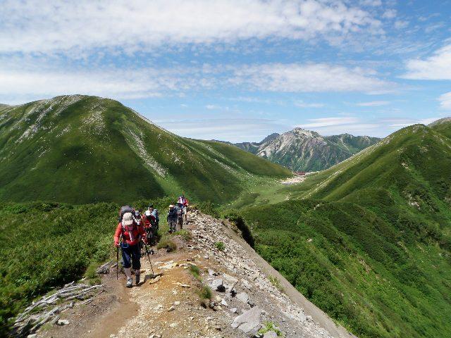 夏山登山ツアー 「北アルプス、黒部源流」 参加19名_d0007657_8103833.jpg