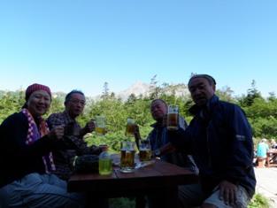夏山登山ツアー 「北アルプス、黒部源流」 参加19名_d0007657_8134183.jpg