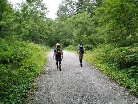 夏山登山ツアー 「北アルプス、黒部源流」 参加19名_d0007657_8252584.jpg