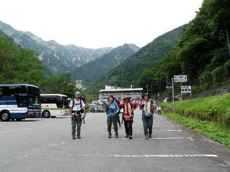 夏山登山ツアー 「北アルプス、黒部源流」 参加19名_d0007657_8264465.jpg