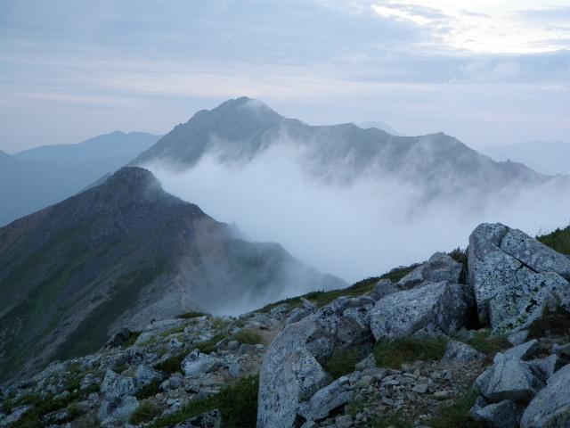 夏山登山ツアー 「北アルプス、黒部源流」 参加19名_d0007657_9501241.jpg