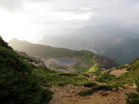 夏山登山ツアー 「北アルプス、黒部源流」 参加19名_d0007657_95354100.jpg