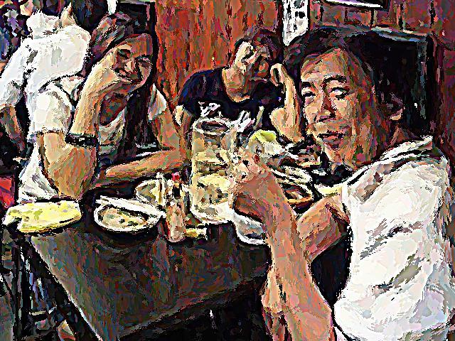 思い出横丁からアートする 養老乃瀧さんから投稿いただきました。_c0074322_15471663.jpg