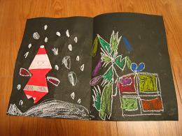 サンタさんへのカード3.JPG