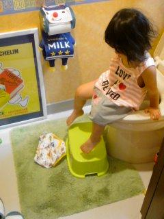 トイレトレーニングと・・・ポニョパン。_f0177295_1512760.jpg