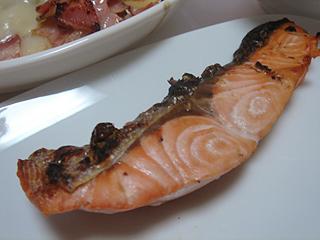 紅鮭とジャーマンポテト_c0025217_1593266.jpg