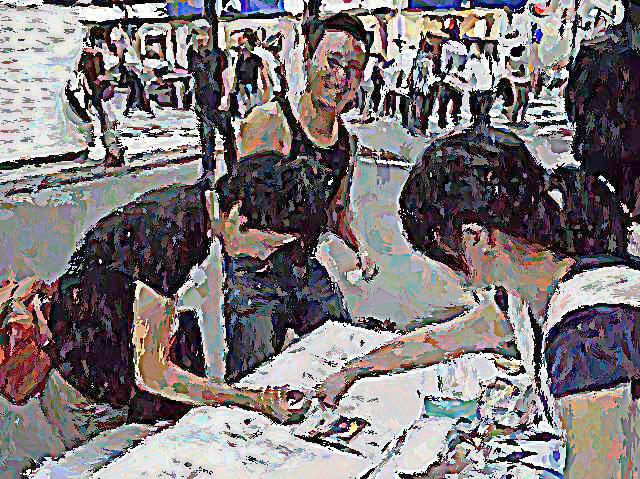 思い出横丁 街並み絵巻プロジェクト SEIGOさん登場_c0074322_9185231.jpg