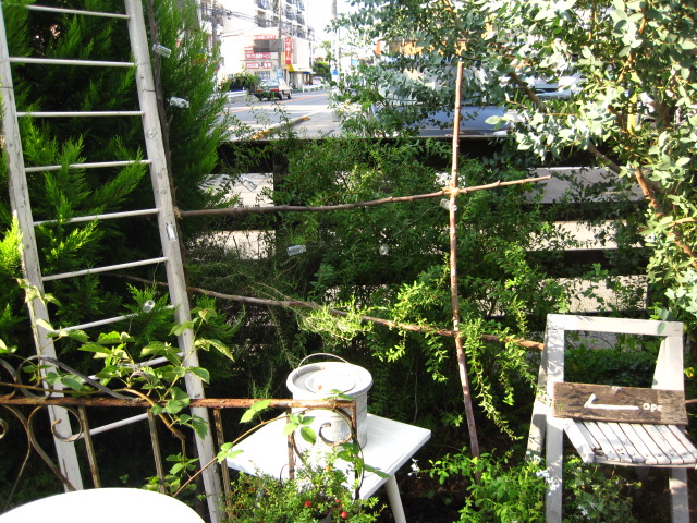 garden market 会場作り3_c0102228_19544469.jpg