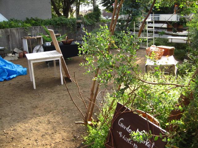 garden market 会場作り3_c0102228_19554020.jpg