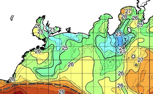 遠州灘沖に 青い澄み潮がー!・・・って、喜んじゃダメ 【カジキ マグロ トローリング】_f0009039_1830660.jpg
