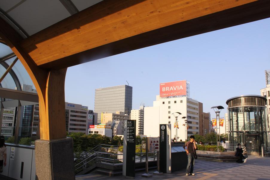ゴールデンスランバーロケ地          仙台駅東口_a0107574_2121586.jpg