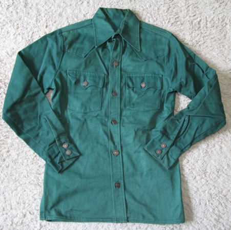 LEVI'S GREEN DENIMシャツ ジャケット!_c0144020_10493036.jpg