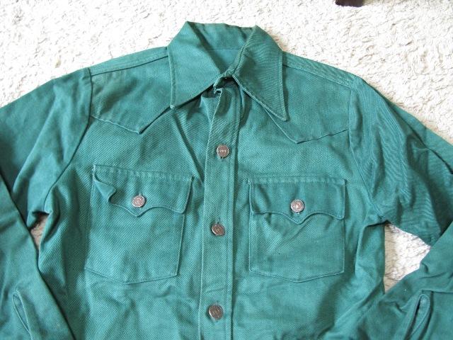 LEVI'S GREEN DENIMシャツ ジャケット!_c0144020_10494117.jpg