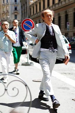 """'09 夏の思い出 「ヴィトンでお茶する」で""""自分スタイル""""&ドレスシャツもジャケットも同じ生地編_c0177259_339204.jpg"""