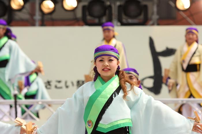 第56回よさこい祭り(2009) 全国大会 備後ばらバラよさこい踊り隊 その2_a0077663_9331422.jpg
