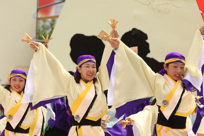 第56回よさこい祭り(2009) 全国大会 備後ばらバラよさこい踊り隊 その2_a0077663_9332989.jpg
