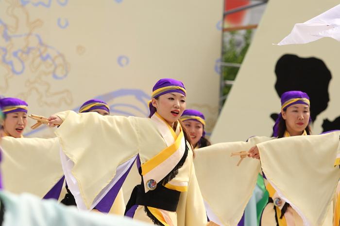 第56回よさこい祭り(2009) 全国大会 備後ばらバラよさこい踊り隊 その2_a0077663_9333697.jpg