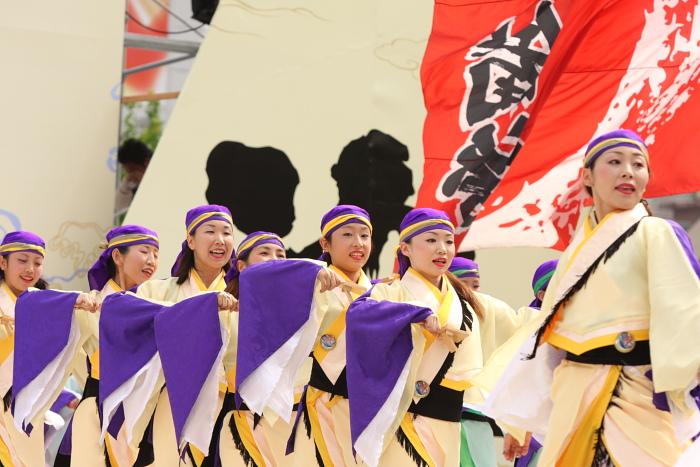 第56回よさこい祭り(2009) 全国大会 備後ばらバラよさこい踊り隊 その2_a0077663_933441.jpg