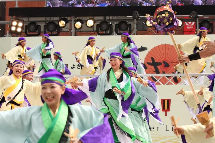 第56回よさこい祭り(2009) 全国大会 備後ばらバラよさこい踊り隊 その2_a0077663_934392.jpg