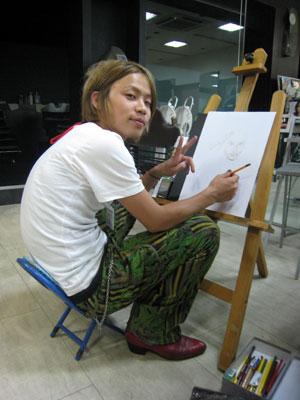 【brace布施店】サガラ画伯_c0080367_1234916.jpg