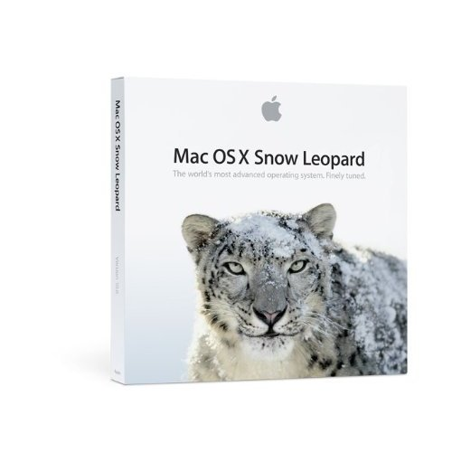 Mac OS X Snow Leopard パッケージ