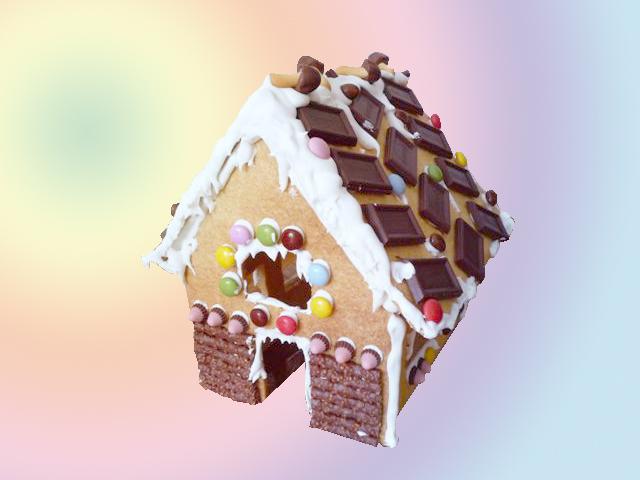 完成!お菓子の家_a0115906_20103023.jpg
