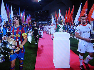 FCバルセロナ×シャフタール・ドネツク UEFA SUPER CUP 2009_c0025217_21201198.jpg