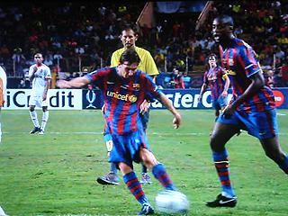 FCバルセロナ×シャフタール・ドネツク UEFA SUPER CUP 2009_c0025217_21202546.jpg
