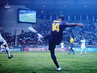FCバルセロナ×シャフタール・ドネツク UEFA SUPER CUP 2009_c0025217_2120319.jpg
