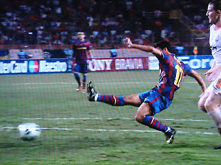FCバルセロナ×シャフタール・ドネツク UEFA SUPER CUP 2009_c0025217_21204234.jpg