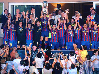 FCバルセロナ×シャフタール・ドネツク UEFA SUPER CUP 2009_c0025217_2120498.jpg