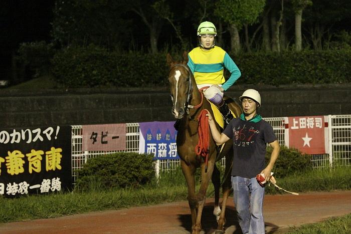 2009年8月29日(土) 高知競馬 10R 一発逆転 ファイナルレース C4 記者選抜_a0077663_822341.jpg