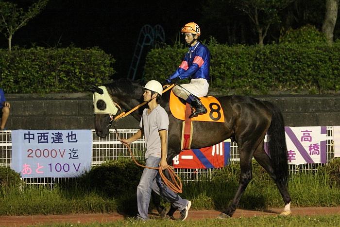 2009年8月29日(土) 高知競馬 10R 一発逆転 ファイナルレース C4 記者選抜_a0077663_8224482.jpg