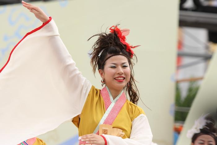 第56回よさこい祭り(2009) 全国大会 丸亀ごんな連_a0077663_9535118.jpg