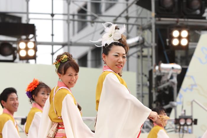第56回よさこい祭り(2009) 全国大会 丸亀ごんな連_a0077663_9541380.jpg