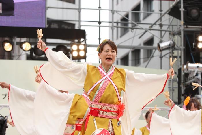 第56回よさこい祭り(2009) 全国大会 丸亀ごんな連_a0077663_9542032.jpg