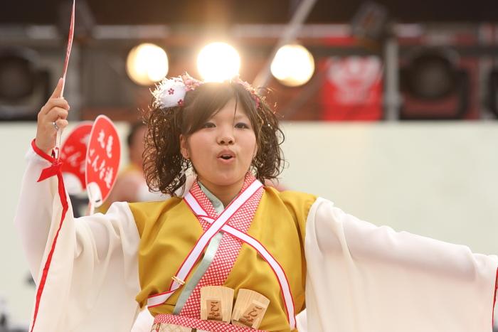 第56回よさこい祭り(2009) 全国大会 丸亀ごんな連_a0077663_9543657.jpg