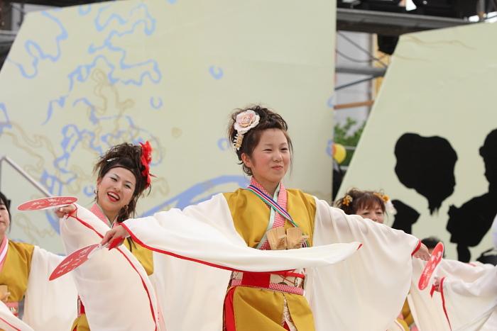 第56回よさこい祭り(2009) 全国大会 丸亀ごんな連_a0077663_9544442.jpg