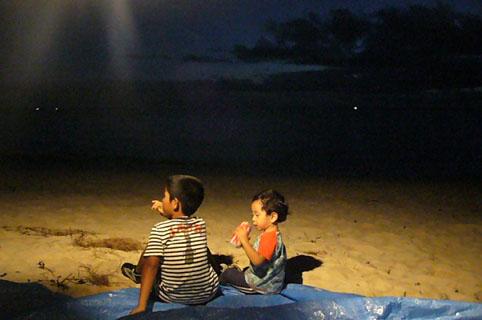 beach party with celebrity. _c0153966_22341735.jpg