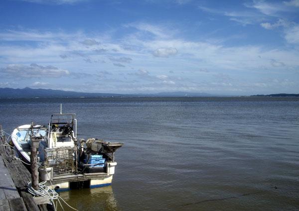 十三湖 と 日本海をチラッと♪_a0136293_15483260.jpg
